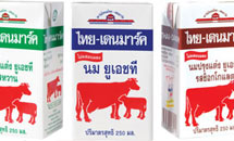 นมไทย-เดนมาร์ค ไม่ผสมนมผง ปลอดภัย 100% จากสารเมลามีน