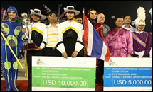 วงโย ราชบพิธ โชว์ประทับใจ กวาด 4 รางวัลคว้าแชมป์โลก
