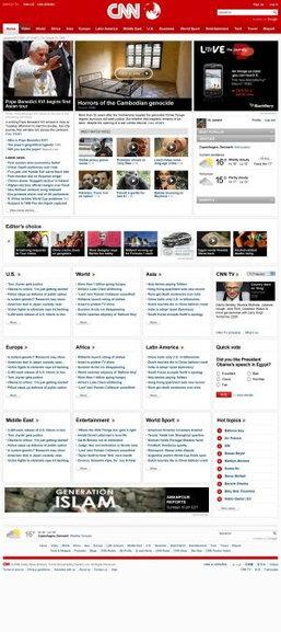 ซีเอ็นเอ็น เปิดตัว CNN.com โฉมใหม่ดีไซน์ทันสมัย เพิ่มคอนเทนต์วีดีโอ พร้อมสร้างโปรไฟล์ของตนเองได้