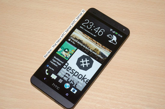 รีวิว The New HTC Sense