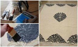DIY 2 ขั้นตอนเนรมิตผ้าม่าน ผ้าปูโต๊ะ แบบง่ายๆ