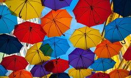 """5 ประโยชน์จาก """"ร่ม"""" ที่ไม่ใช่แค่กันแดด กันฝน"""