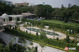 """เสน่ห์ """"สวนโรมัน"""" พระราชวังพญาไท สวนเรขาคณิตกลางเมืองที่ร่มรื่นและงดงาม"""
