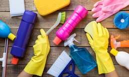 7 เคล็ดลับทำความสะอาดบ้าน แบบใช้เวลาแป๊บเดียว