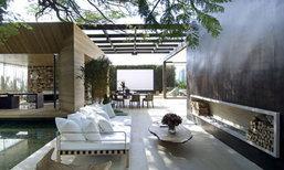 เรสซิเดนที่กว้างขวาง กับการออกแบบที่เน้นเปิดกว้างสู่ธรรมชาติภายนอก!!