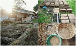 ชาวนาไทยสร้างบ้านดินจาก 0 ตอนแรกคนหาว่าบ้า ตอนนี้ถูกเชิญเป็นอาจารย์