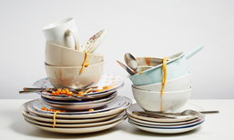 ง่ายและสนุก 10 เทคนิคล้างจานชามอย่างไรให้สะอาดหมดจด