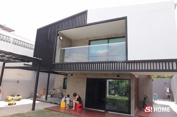 บ้านใหม่หลังตกแต่งเสร็จ