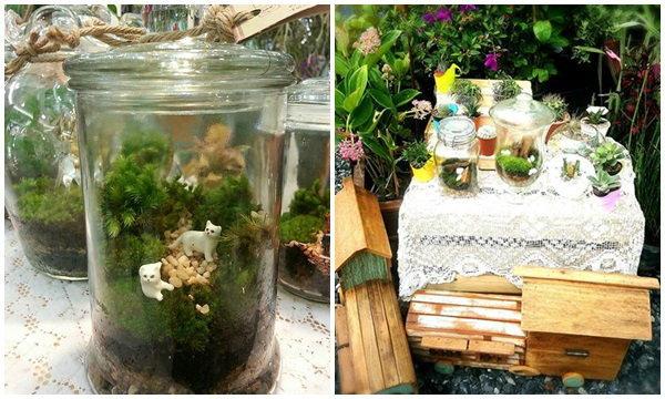Terrarium ยกสวนสวยมาไว้ในขวดแก้ว