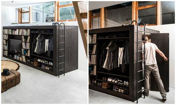 Living Cube เปลี่ยนตู้ให้เป็นบ้านเล็กๆ
