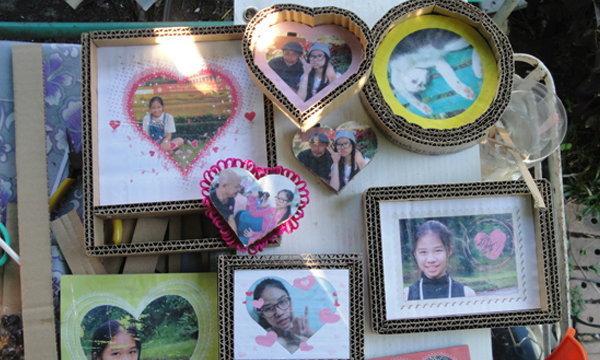 "DIY กรอบรูปตกไม่แตก ของขวัญ ""วันวาเลนไทน์"" สุดน่ารัก"