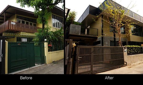 Renovate บ้านมือสอง เป็น บ้านหลังใหม่ ดิบ เท่ เก๋