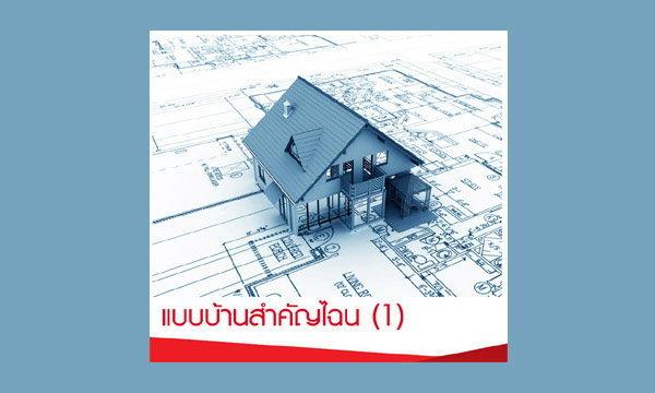 แบบบ้านสำคัญไฉน (1)