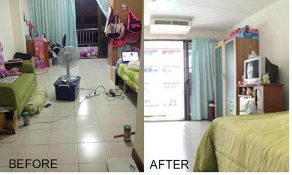 Before & After จัดห้องใหม่เฟี้ยว ด้วยงบแค่ 1 หมื่นบาท