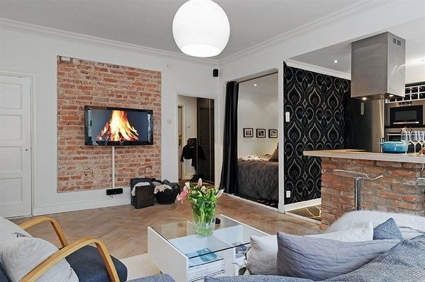 30 ไอเดียตกแต่งอพาร์ทเมนท์ขนาดเล็กที่จะทำให้คุณสดชื่นเหมือนอยู่ห้องใหม่