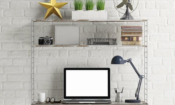 7 วิธีแก้ปัญหาพื้นที่ทำงานเล็กแคบในอพาร์ทเมนท์ให้เป๊ะ ปัง