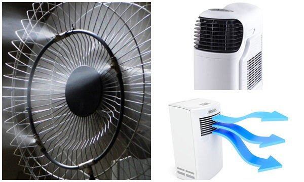 พัดลมไอน้ำ พัดลมไอเย็น หรือ แอร์เคลื่อนที่ ร้อนนี้เลือกใช้อะไรดี ?