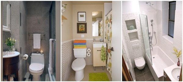 18 ไอเดียห้องน้ำขนาดเล็ก แต่งสวยมีสไตล์