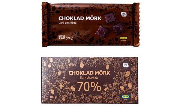 อิเกีย (IKEA) เรียกคืนดาร์กช็อคโกแลต CHÖKLAD MÖRK 60% และ  CHÖKLAD MÖRK 70%