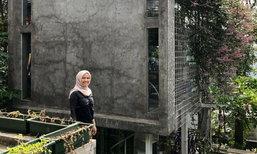 บ้านหลังเล็กของคู่รักชาวอินโด ออกแบบและจัดพื้นที่แบบคนญี่ปุ่น