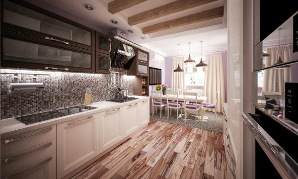 คอนโด Modern Kitchen เรียบ หรู ดูดี