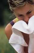 แบบทดสอบ : ทำนายรักจากผ้าเช็ดหน้า
