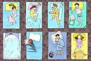 เกมทายใจ14 ท่านอนสะท้อนตัวตนของคุณ