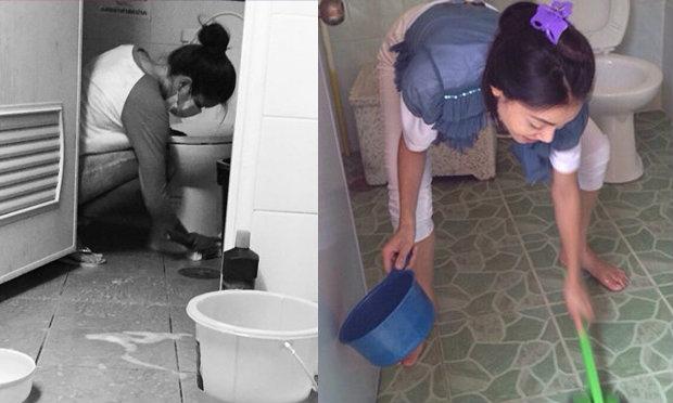 ล้างห้องน้ำวัด แก้ดวงย่ำแย่ การงานตกต่ำ