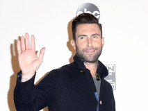 Adam Levine at American Music Awards 2016