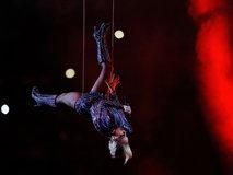 Lady Gaga at Super Bowl LI Halftime Show