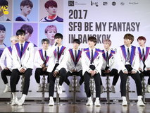2017 SF9 BE MY FANTASY in Bangkok