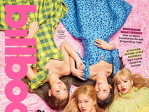 BLACKPINK on Billboard cover