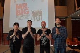 """""""ร็อกแอนด์โรลไม่มีวันตาย"""" ความในใจจากฮาร์ดร็อครุ่นเก๋า Mr. Big ก่อนเปิดคอนเสิร์ตใหญ่ในเมืองไทย"""