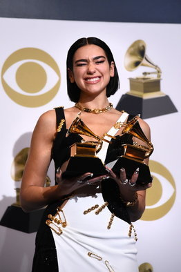 Grammy Awards 2019: Dua Lipa