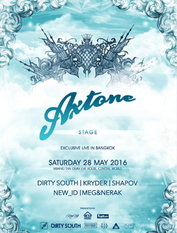 AXTONE STAGE EXCLUSIVE LIVE IN BANGKOK
