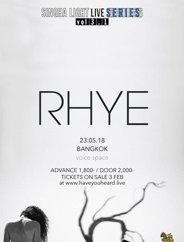 SINGHA LIGHT LIVE SERIES VOL 3.1 - RHYE