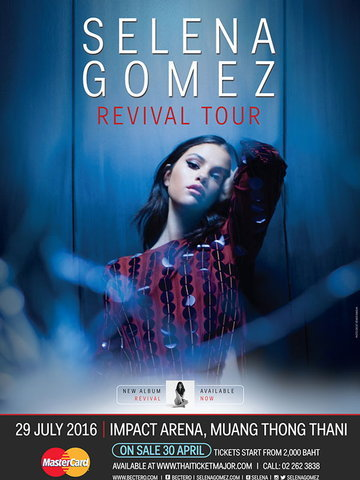 SELENA GOMEZ REVIVAL TOUR