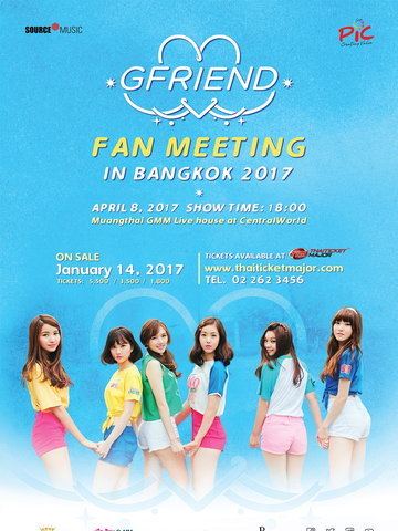 GFRIEND Fan Meeting in Bangkok 2017