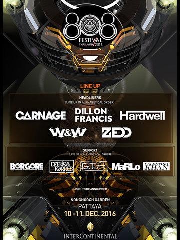 808 Festival Thailand 2016