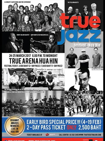 True Jazz Festival at Hua Hin
