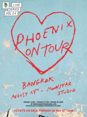 SINGHA LIGHT Live Series Vol 2.4 - Phoenix