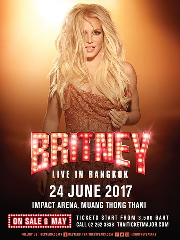 BRITNEY SPEARS LIVE IN BANGKOK