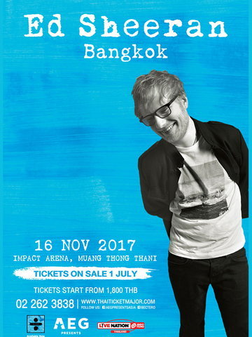 Ed Sheeran Live in Bangkok 2017