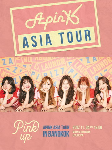 2017 Apink Asia Tour [Pink Up] in Bangkok