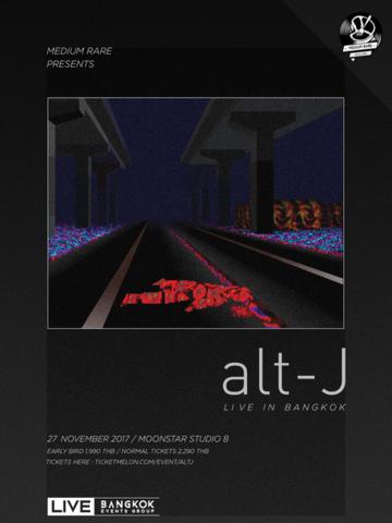 alt-J Live in Bangkok