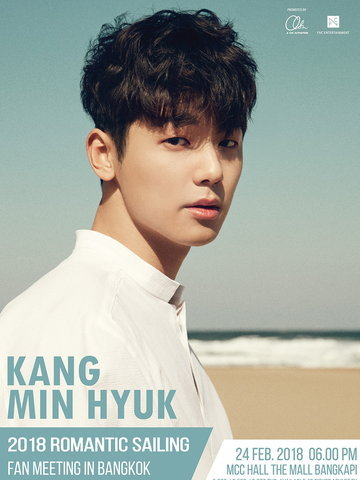 "2018 KANG MIN HYUK ""ROMANTIC SAILING"" FAN MEETING IN BANGKOK"