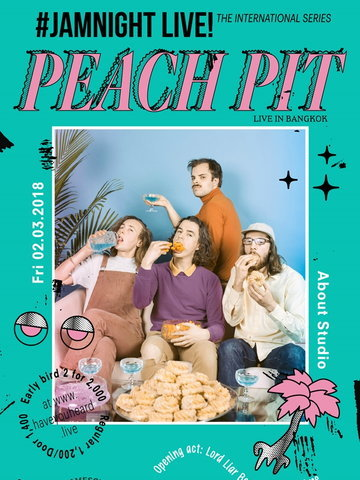 #JAMNIGHT Live! with Peach Pit