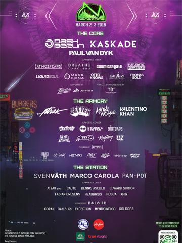 Dropzone Festival Bangkok 2018