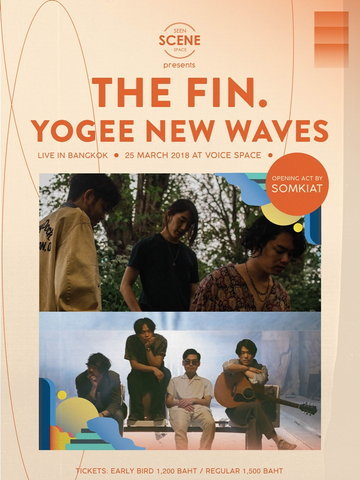 The fin. + Yogee New Waves Live in Bangkok