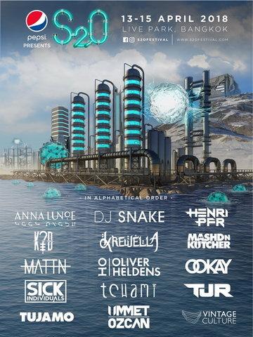 S2O Songkran Music Festival 2018